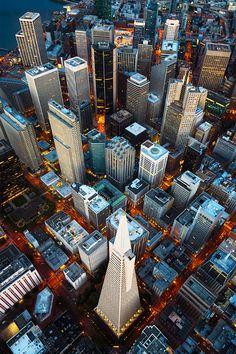 San Francisco Vertigo | California - (by Mike Mezeul II)