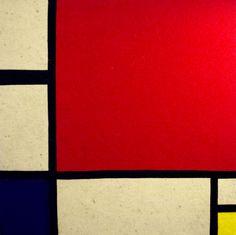 Mondrian, Felt, 50x50cm, 2kvadrata.com