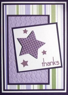 Thanks by Habsgirl22 - Cards and Paper Crafts at Splitcoaststampers