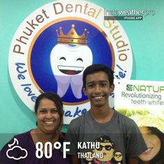 Patient from Australia @ Phuket Dental Studio