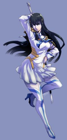Ecchi Anime Girls Pictures & Images: Kill La Kill - Satsuki Kiryuin The Cold President Manga Pictures, Pictures Images, Girl Pictures, Satsuki Kiryuin, Kill La Kill, Picture Search, Hair Ornaments, Manga Anime, Artwork