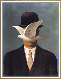 Man in a Bowler Hat - Rene Magritte