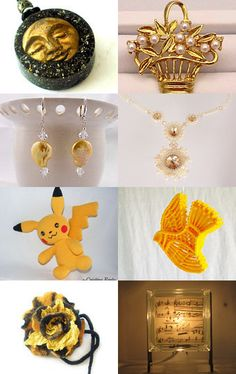 Golden Glow Thank You Treasury by Sharon Wittke on Etsy--Pinned with TreasuryPin.com