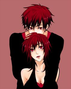 Kagami and Kagami! :D His name can be both a girl's and a guy's so why change? :3