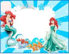 Marco Foto Princesas Invitations For Every Party Frame Disney