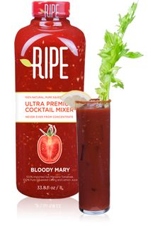 Bloody Mary: Ripe: You would think Bloody Mary mix would be easy enough to do right, but not so. Again, the problem is high-fructose corn syrup and other weird artificial ingredients. Ripe's Bloody Mary Mix ($9 for a 33-ounce bottle) is pretty on point. Made from San Marzano tomatoes, pressed celery juice, freshly squeezed lemon juice, horseradish, and sea salt, it's pretty close to what you'd get if you made it yourself.