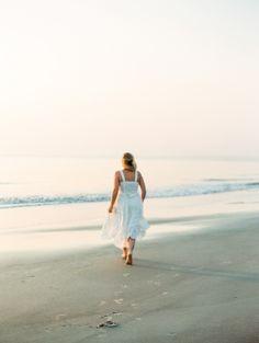 Run away to the ocean, Tybee Island Savannah Georgia, film, contax645 p.c Carly Milbrath Photography