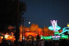 """Tips for Visiting Disney's Cars Land with """"Cars"""" Crazed Kids"""