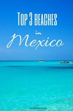 The best beaches in Mexico #travel #beach #mexico #yucatan #cancun #caribbean
