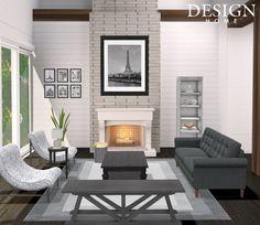 Design Home App, House Design, Outdoor Furniture Sets, Outdoor Decor, Game Design, Gallery Wall, Patio, Interior Design, The Originals
