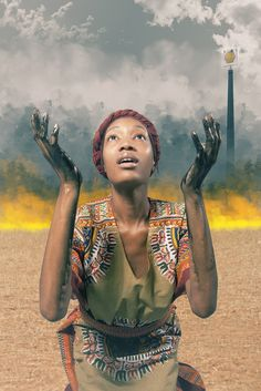 [People Activity- Economics] Remember Saro-Wiwa: Visually gripping photo commenting on oil in Africa