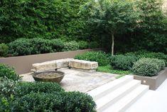 Beautiful landscaping at Hugh Main