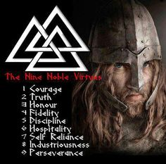 The 9 noble virtues