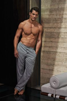 """David Gandy has designed his own underwear collection, exclusively for Marks & Spencer. The advertisement of this capsule collection titled """"David Gandy for Autograph"""", was photographed by Mariano Vivanco. Gq, David James Gandy, David Gandy Body, David Gandy Style, Hommes Sexy, Shirtless Men, Shirtless Male Models, Perfect Man, Gorgeous Men"""