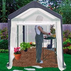 Home Gardener Portable Greenhouse (6' x 8') - Quality House