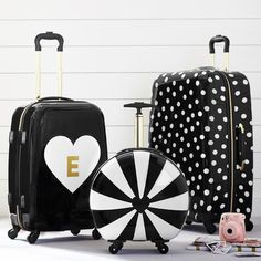 Discover all types of teen bags and luggage to fit your needs. Shop Pottery Barn Teen's travel + school bags including duffle bags, backpacks, lungs bags, beach totes and more. Teen Luggage, Cute Luggage, Luggage Sets, Travel Luggage, Travel Bags, Bags For Teens, Gifts For Teens, Teen Gifts, Hard Sided Luggage