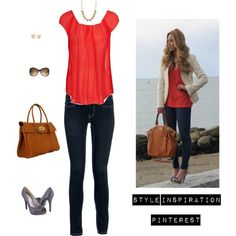 """""""Coral blouse & Navy pumps"""" January 18th"""