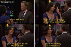 Sounds like somebody just wrote her vows - Barney Stinson Quote on How I Met Your Mother Barney Quotes, Barney Stinson Quotes, O Love, I Fall In Love, Falling In Love, Himym, How I Met Your Mother, Sounds Like, Movie Quotes