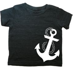 Hipster kids clothes for your pleasure. Lil Poopie Nation knows that your kid is the coolest around, and that's why we've put together this anchor white t-shirt for your kids. Hipsters of all ages welcome here!