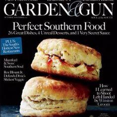 """@gardenandgun's photo: """"The October/November issue of Garden & Gun (on sale next week)"""""""
