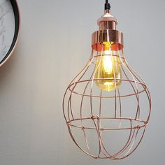 Shop for Wilko Copper Effect Bulb Cage Pendant Light Shade at wilko - where we offer a range of home and leisure goods at great prices. Cage Pendant Light, Bin Bag, Stationery Craft, Business For Kids, Light Shades, Bathroom Accessories, Light Bulb, Living Spaces, Household