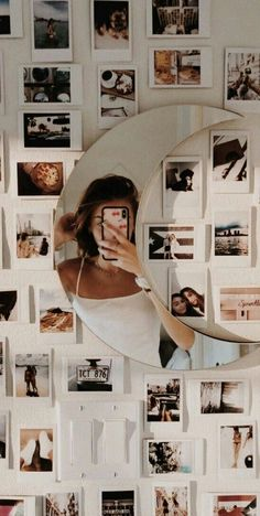 beautiful dorm room inspiration decor ideas for college student 43 20 Cute Room Decor, Teen Room Decor, Picture Room Decor, Room Wall Decor, Room Ideas Bedroom, Bedroom Decor, Bedroom Inspo, Bedroom Wall, Dorm Rooms Decorating