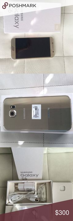 Samsung Galaxy S6 Gold its a tmobile, no scratch, flawless, Color gold, paid off. Other