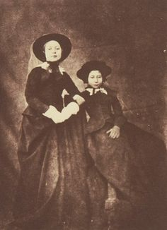Portraits of Royal Children: Vol.1 1848-1854. The Princess Royal and Princess Alice, Windsor 1854. | Royal Collection Trust