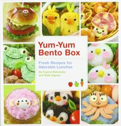 Yum-Yum Bento Box Fresh Recipes for Adorable Lunches