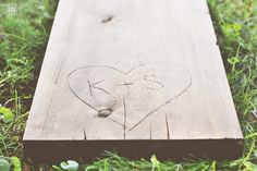 Wood Carved Wedding Benches