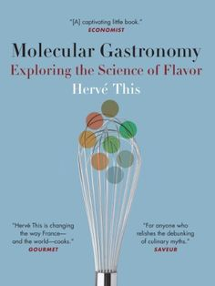 Molecular Gastronomy: Exploring the Science of Flavor (Arts and Traditions of the Table: Perspectives on Culinary History) by Hervé This, http://www.amazon.com/dp/B007TADJPC/ref=cm_sw_r_pi_dp_cRtlub0A707K9