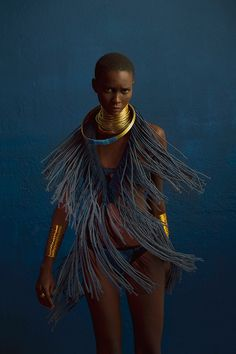 Clam Magazine #28 Muse: Mahany Pery Photography: Adriano Damas #fringe #photography