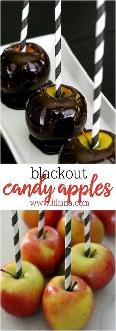 Blackout Candy Apple