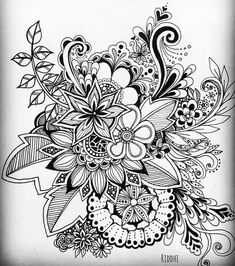 I love the different techniques used for texture i really like the detail Mandalas Painting, Mandala Drawing, Mandala Tattoo, Mandala Art, Zentangle Drawings, Zentangle Patterns, Tattoo Drawings, Art Drawings, Zentangles