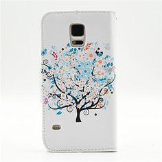 Samsung matkapuhelin - Samsung S5 I9600 - Kännykkäkuori - Kuvitettu/Erikois malli ( Multi-color , Plastic/PU Leather ) – EUR € 7.99