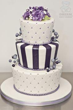 1000 Images About Wedding Cake On Pinterest Wedding Cakes Purple Wedding