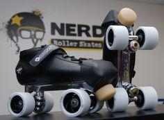 Bont Hybrid Carbon, Snyder Advantage plate, Roller Bones wheels, Qube Ceramic Bearings, and Gumball toe stops. Roller Disco, Roller Derby, Roller Skating, Speed Skates, Inline Skating, Shoe Company, Gumball, Quad, Bones