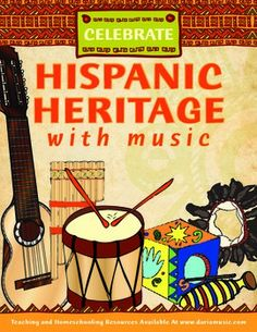 Free mini-poster for Hispanic Heritage Month (Sept 15 - Oct 15, 2016)…