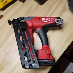 I've been very happy with the Milwaukee 16 gauge angled finish nailer does everything I ask it to do.. sinks every nail.. comfortable to use..@milwaukeetool #milwaukeenailer #milwaukeetools #carpenter #contractor #construction #plumber #mechanic #electrician #welding #nailer