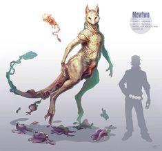 Les Pokemonen version épique et réaliste, imaginés par l'illustrateur américainRJ Palmer, aka Arvalis.