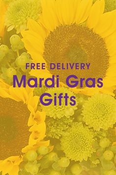 Join in the celebration! Check out our Mardi Gras gifts ♥