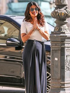 Star Tracks: Thursday, June 23, 2016 | LIKE A PRAYER | Priyanka Chopra is Parisian chic as she walks in the Place Vendome in Paris, France on Wednesday.