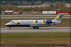 West Air Europe - SE-DUX - CRJ-200LR | Tom Gulbrandsen | Flickr