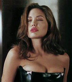 Angelina Jolie in Mr & Mrs Smith movie.