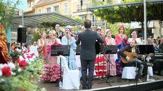 """Choeur flamenco lors d'une """"misa flamenca"""" en Espagne."""