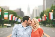 Philadelphia engagement pictures.