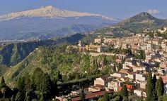 """""""Italy, to visit our ancestral home. Specifically, Palermo, Sicily. My maternal grandfather was from there and we would love to see whether other relatives from our generations are still there. Fascinating!"""" —Wynne Gavin (Courtesy joe8211943/myBudgetTrav) From: 41 Mother-Daughter Trips of a Lifetime.  #taormina"""