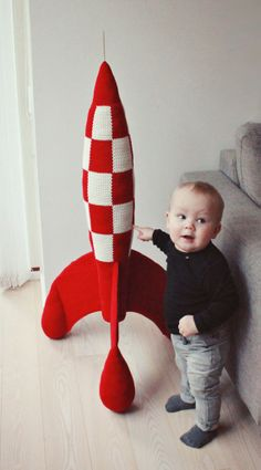 Crochet Rocket Inspiration