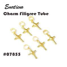 50pcs Dreadlock Beads Wooden Hair Braiding Tube Rings Extension Accessories P0CA