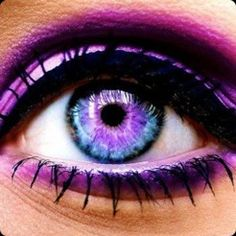 Selfie Eye Colour and Face Makeover - Change your color or add galaxy, wild cat and rainbow contact lenses then add lashes, liner and eyebrows by OMJ Holdings Pty Ltd Gorgeous Eyes, Pretty Eyes, Cool Eyes, Amazing Eyes, Simply Beautiful, Beautiful Images, Purple Tumblr, Face Makeover, Regard Intense